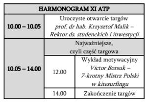 harmnogram - PO