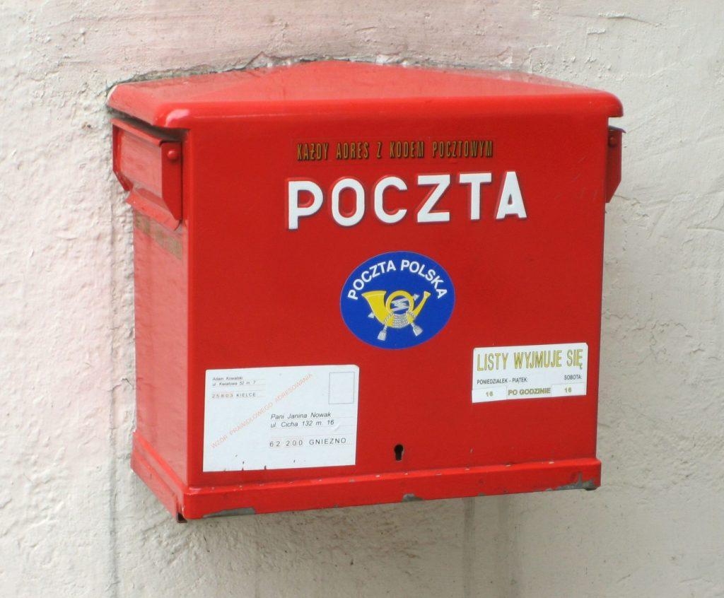 Poczta Polska - praca w zawodzie listonosza