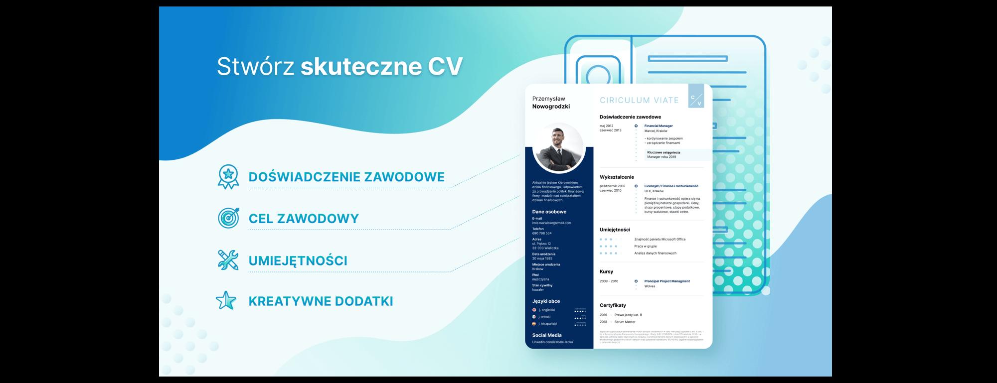 Przykładowe CV